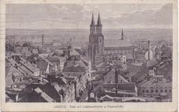 LIEGNITZ - LEGNICA - 1916 - Total Mit Liebfrauenkirche U. Frauenstrasse - FELDPOST - Czech Republic