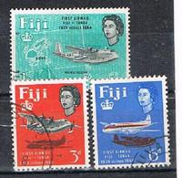 FIJI AP160 - 1964 Tonga - Fiji Aiemail Service Used Set - Fiji (...-1970)
