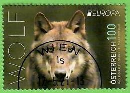 Österreich   2021 , EUROPA CEPT National Gefährdete Wildtiere - Gestempelt / Fine Used / (o) - 2020