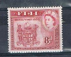 FIJI AP157 - 1953 8d QEII Used - Fiji (...-1970)