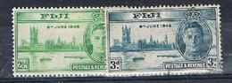 FIJI AP154 - 1946 Peace Used Set - Fiji (...-1970)