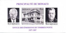 1987 MONACO BF 37a MNH ** - Blocks & Sheetlets