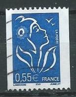 France YT N°3807 Marianne De Lamouche (Roulette) Oblitéré ° - 2004-08 Marianne Van Lamouche