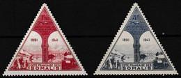 Série De 2 Timbres Aériens Neufs**  Transfert Du Chef-lieu D'Obock à Djibouti - N° 11-12 (Yvert) - Côte Des Somalis 1943 - Nuevos