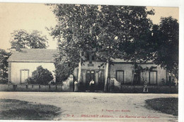 CPA   MOLINET  La Mairie Et Les Ecoles  N° 4 - Autres Communes