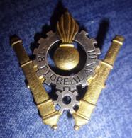 Insigne Section Technique Armée De Terre - STAT - Hueste
