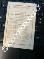 O0370 De Ryck Matthys Baert Barbara Kruibeke Cruijbeke 1802 1882 - Obituary Notices