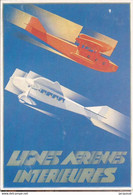 Transports Aviation Lignes Aériennes Intérieures - 1946-....: Era Moderna