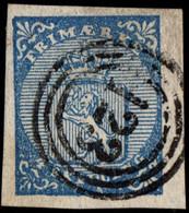 """Norwegen Wappen Nr.1 """"123""""      Norway Norvege Noruega - Used Stamps"""
