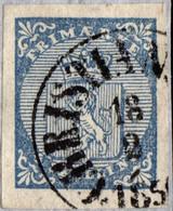 Norwegen Wappen Nr.1 CHRISTIAN (SUND-SAND)    18.02.185?     Norway Norvege Noruega - Used Stamps