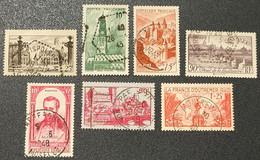 N° 778/567/792/450/800/449/453  Avec Oblitération Cachet à Date D'Epoque  TB - Used Stamps