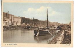 BEAUCAIRE - Le Canal - PENICHE - Beaucaire