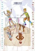 Blok 226** Speelgoed Van Alle Tijden 4517/18** Europa Jouets De Tous Le Temps (Plakwaarde 11,10€ Facial) - Bloques 1962-....