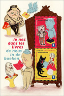 Blok 179** Met De Neus In De Boeken / Bloc 179 MNH Le Nez Dans Les Livres 4002/03** - Bloques 1962-....