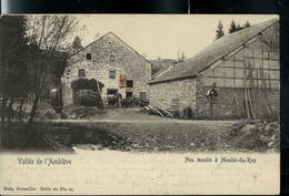 CP (Neu Moulin à Moulin-du-Ruy ) Obl. 1906 + Griffe De ROANNE - COO - Langstempel