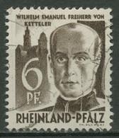 Französische Zone: Rheinland-Pfalz 1948 Ketteler Type IV, 17 Y IV Gestempelt - Französische Zone