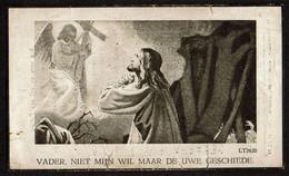 Bid Voor De Ziel - Gustave VAN BEVEREN (L. Gillet) - Olmen 1956 - 2 Scans - Devotion Images