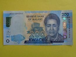 Billet De 200 Kwacha 2017 Du MALAWI. - Malawi