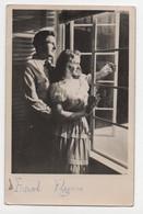 CPA Errol Flynn And ...?  Film Actor Real Photo Vintage Postcard - Acteurs