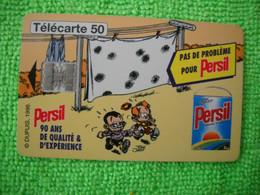 7074 Télécarte Collection PERSIL   Spirou ( Lessive  ) 50u  ( Recto Verso)  Carte Téléphonique - Alimentazioni