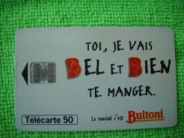 7075 Télécarte Collection Ravioli BUITONI     50u  ( Recto Verso)  Carte Téléphonique - Alimentazioni