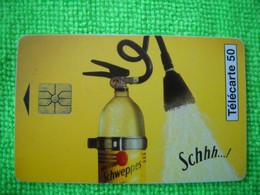 7076 Télécarte Collection Boisson SCHWEPPES     50u  ( Recto Verso)  Carte Téléphonique - Alimentazioni