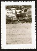 Photo 10 X7 Cm - C1950 -  Col De Puymorens  - Panneau Routier Indicateur - Voir Scan - Places