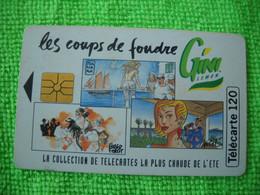 7079 Télécarte Collection Boisson GINI Coup De Foudre   50u  ( Recto Verso)  Carte Téléphonique - Alimentazioni