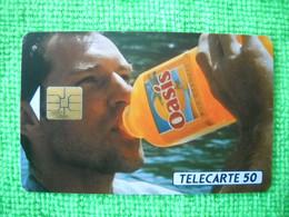 7081 Télécarte Collection OASIS Source De Plaisir   (Boisson) 50u  ( Recto Verso)  Carte Téléphonique - Alimentazioni