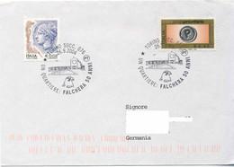 126  Faucon: Oblit. Temporaire D'Italie, 2004 - Hawk Pictorial Cancel From Italy. Bird Of Prey Rapace - Eagles & Birds Of Prey