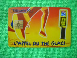 7083 Télécarte Collection ICE TEA L'appel Du Thé Glacé   (Boisson) 50u  ( Recto Verso)  Carte Téléphonique - Alimentazioni