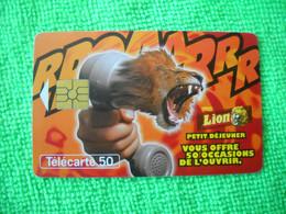 7085 Télécarte Collection LION Petit Déjeuner 50u  ( Recto Verso)  Carte Téléphonique - Alimentazioni