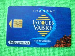7087 Télécarte Collection TRANSAT JACQUES VABRE Café De Colombie  50u  ( Recto Verso)  Carte Téléphonique - Alimentazioni
