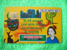 7088 Télécarte Collection HOLLYWOOD Chewing Gum  (Sucre) Cactus Kangourou 50u  ( Recto Verso)  Carte Téléphonique - Alimentazioni