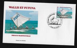 BG70 Wallis Et Futuna FDC Pirogue 2015 - FDC