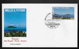 BG70 Wallis Et Futuna FDC Paysages 2015 - FDC