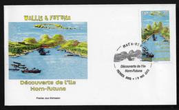 BG70 Wallis Et Futuna FDC Découverte De L'ïle Horn 2013 - FDC