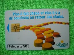 7090 Télécarte Collection LA SALVETAT  (Boisson) (citron Vert Orange Mandarine)  50u  ( Recto Verso)  Carte Téléphonique - Alimentazioni