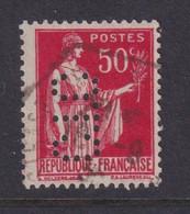 Perforé/perfin/lochung France No 283 C.I.C Crédit Industriel Et Commercial (173) - Gezähnt (Perforiert/Gezähnt)