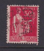Perforé/perfin/lochung France No 283 CIMA Cie Internationale Des Machines Agricoles (177-5) - Gezähnt (Perforiert/Gezähnt)