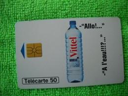 7092 Télécarte Collection Allo!  VITTEL  A L'eau !!!!  (Boisson Eau )   50u  ( Recto Verso)  Carte Téléphonique - Alimentazioni