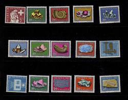 Suisse(1958-61) -  Pro-Patria - Mineraux  - Neufs** - MNH - Unclassified