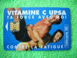 7093 Télécarte Collection Vitamine C UPSA     50u  ( Recto Verso)  Carte Téléphonique - Altri