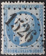 22 Obl GC 1526 Flize (7 Ardennes ) Ind 5 ; Frappe Très Nette & TB Centrée - 1849-1876: Classic Period
