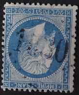 22 Obl GC 1530 La Flotte (16 Chanrente Inférieure ) Ind 6 ; Frappe TB Centrée - 1849-1876: Classic Period
