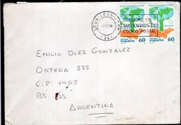 España - 1998 - Carta - Matasello Especial - Bandeleta Parlante  - A1RR2 - 1991-00 Cartas