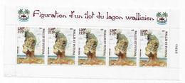 BG71 Wallis Et Futuna Bande 627 ** (demi-feuille) Ilot Wallisien 2004 Roche Sculptée - Unused Stamps