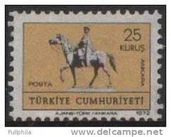 1972 TURKEY GREETINGS MNH ** - Ongebruikt