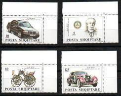 Albanien 2543 - 2546 Mnh ** Eckrand  Mercedes Benz Albanie Albania Shqipëria Auto Car Voiture - Albanie