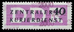 DDR DIENST VERWALTUNGSPOST-A ZKD Nr 12 N2000 Postfrisch X1D2B4A - Oficial